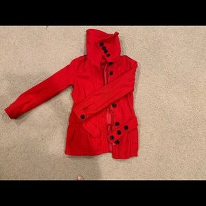 Red jacket. H&M. US size 6.